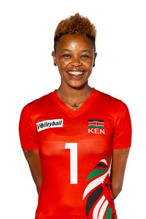 ジェーンワシュ・ワイリム/Jane Wacu Wairimu、バレーボールケニア代表選手(東京オリンピック2020-2021出場)