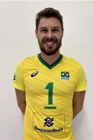 ブルーノ・レゼンデ/Bruno Mossa de Rezende、バレーボールブラジル代表選手(東京オリンピック2020-2021出場)