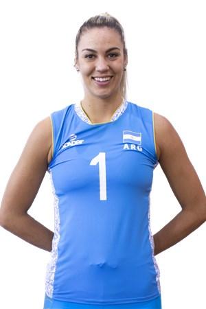1エリナ・ロドリゲス/Elina María Rodriguez、バレーボールアルゼンチン代表選手(東京オリンピック2020-2021出場)