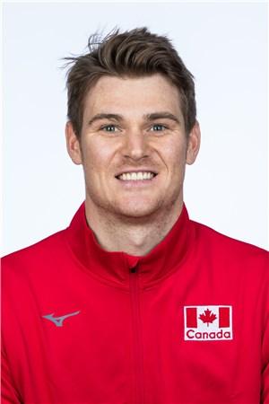 ジョン・ペリン/John Gordon Perrin、バレーボールカナダ代表選手(東京オリンピック2020-2021出場)