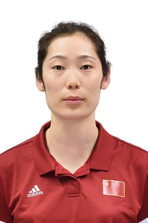 朱婷/シュ・テイ/Zhu Ting、バレーボール中国代表選手(東京オリンピック2020-2021出場)