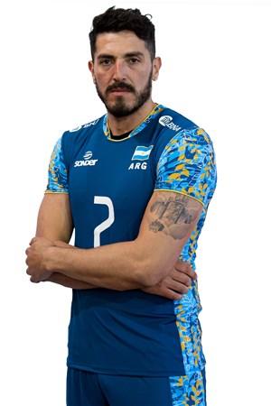 フェデリコ・ペレイラ/Federico Pereyra、バレーボールアルゼンチン代表選手(東京オリンピック2020-2021出場)