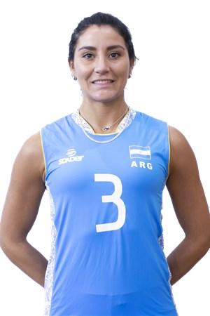 3パウラ・ニセティチ/Paula Yamila Nizetich、バレーボールアルゼンチン代表選手(東京オリンピック2020-2021出場)