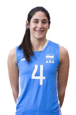 4ダニオラ・ブライチ/Daniela Bulaich Simian、バレーボールアルゼンチン代表選手(東京オリンピック2020-2021出場)
