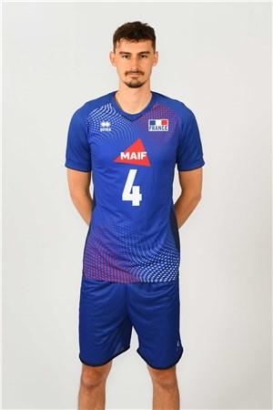 ジャン・パトリ、PATRY、バレーボールフランス男子選手(2020-2021東京オリンピック代表)