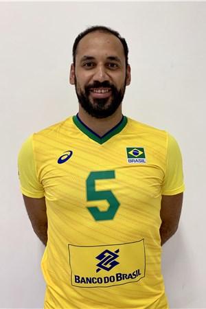 マウリシオ・シウバ/Mauricio Borges Almeida Silva、バレーボールブラジル代表選手(東京オリンピック2020-2021出場)