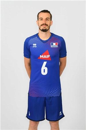 バンジャマン・トニウッティ、TONIUTTI、バレーボールフランス男子選手(2020-2021東京オリンピック代表)