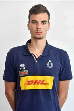6シモーネ・ジャネッリ/Simone Giannelli、バレーボールイタリア代表選手(東京オリンピック2020-2021出場)