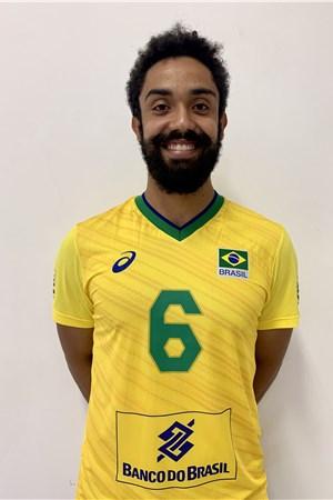 フェルナンド・クレリング/Fernando Gil Kreling、バレーボールブラジル代表選手(東京オリンピック2020-2021出場)