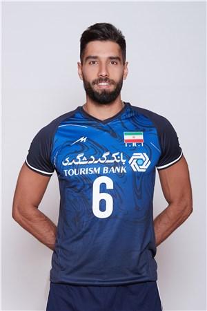6セイエド モハンマド・ムーサビエラギ/Seyed Mohammad Mousavi Eraghi、バレーボールイラン代表選手(東京オリンピック2020-2021出場)