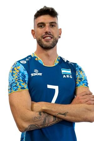 ファクンド・コンテ/Facundo Conte、バレーボールアルゼンチン代表選手(東京オリンピック2020-2021出場)