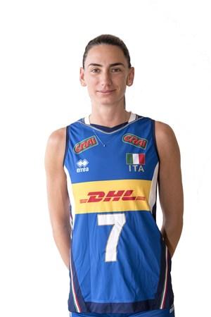 ラファエラ・フォリエ/Raphaela Folie、バレーボールイタリア女子選手(東京オリンピック2020-2021代表)