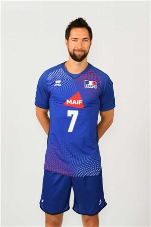 ケヴァン・ティリ、ケヴィン、KEVIN TILLIE、バレーボールフランス男子選手(2020-2021東京オリンピック代表)