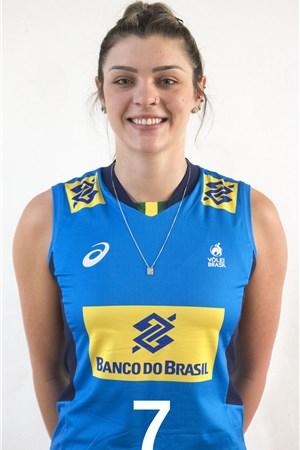 ロザマリア・モンチベレル/Rosamaria Montibeller、バレーボールブラジル代表選手(東京オリンピック2020-2021出場)