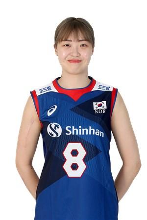 パク・ウンジン/PARK EUNJIN、バレーボール韓国代表選手(東京オリンピック2020-2021代表)