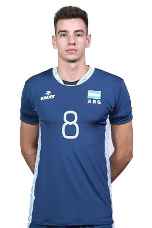 アウグスティン・ロセル/Agustín Loser、バレーボールアルゼンチン代表選手(東京オリンピック2020-2021出場)