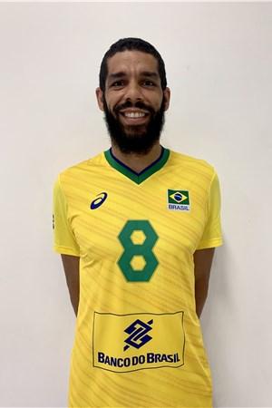 バラセ・デソウザ/Wallace de Souza、バレーボールブラジル代表選手(東京オリンピック2020-2021出場)