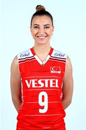 メリハ・イスマイロール/Meliha Ismailoglu、バレーボールトルコ代表選手(東京オリンピック2020-2021出場)