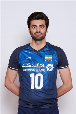 10アミル・ガフール/Amir Ghafour、バレーボールイラン代表選手(東京オリンピック2020-2021出場)