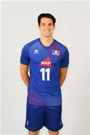 アントワーヌ・ブリザール、BRIZARD、バレーボールフランス男子選手(2020-2021東京オリンピック代表)