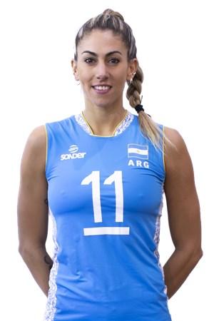 11フリエタ・ラスカノ/Julieta Constanza Lazcano、バレーボールアルゼンチン代表選手(東京オリンピック2020-2021出場)