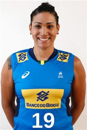 タンダラ・カイシェタ/Tandara Alves Caixeta、バレーボールブラジル代表選手(東京オリンピック2020-2021出場)