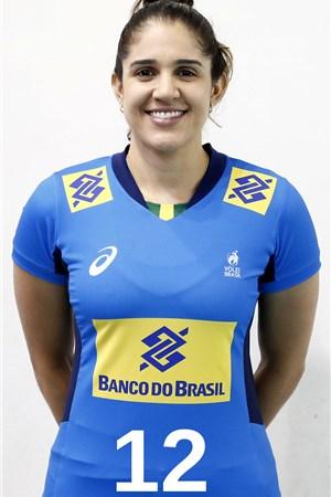 ナタリア・ペレイラ/Natália Zilio Pereira、バレーボールブラジル代表選手(東京オリンピック2020-2021出場)