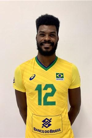 イザキ・サントス/Isac Viana Santos、バレーボールブラジル代表選手(東京オリンピック2020-2021出場)