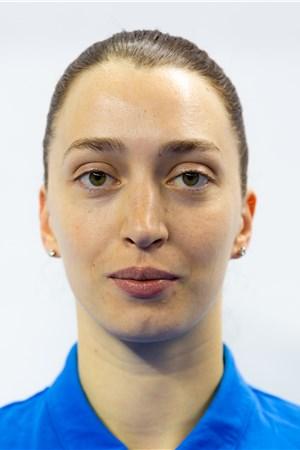 エフゲニア・スタルツェワ/Evgeniya Startseva、バレーボールロシア(ROC)女子選手(東京オリンピック2020-2021代表)