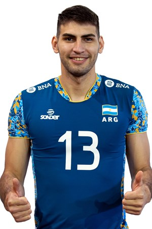 エセキエル・パラシオス/Ezequiel Palacios、バレーボールアルゼンチン代表選手(東京オリンピック2020-2021出場)