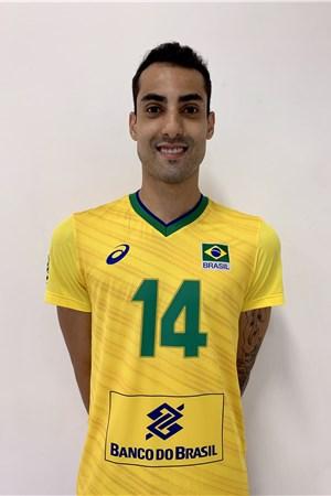ドウグラス・ソウザ/Douglas Correia De Souza、バレーボールブラジル代表選手(東京オリンピック2020-2021出場)
