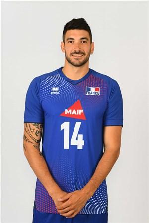 ニコラ・ルゴフ、LE GOFF、バレーボールフランス男子選手(2020-2021東京オリンピック代表)