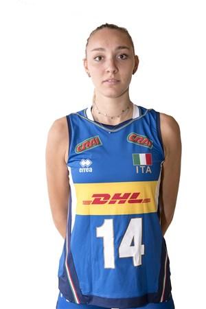エレーナ・ピエトリーニ/Elena Pietrini、バレーボールイタリア女子選手(東京オリンピック2020-2021代表)