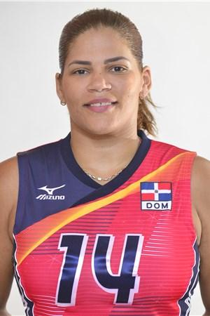 14プリシージャ・リベラ/Prisilla Rivera、バレーボールドミニカ共和国代表選手(東京オリンピック2020-2021出場)