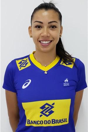 カロリーナ・アナ・ダシウバ/Ana Carolina da Silva、バレーボールブラジル代表選手(東京オリンピック2020-2021出場)