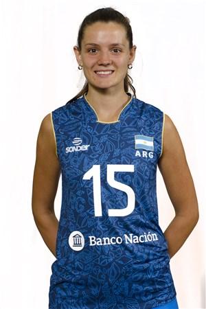 15アントネラ・フォルトゥナ/Antonela Fortuna、バレーボールアルゼンチン代表選手(東京オリンピック2020-2021出場)