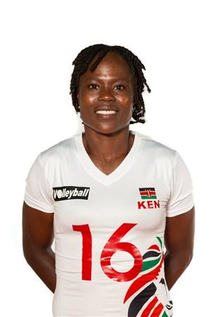 アグリッピナ・クンドゥ/Agripina Khayesi Kundu、バレーボールケニア代表選手(東京オリンピック2020-2021出場)