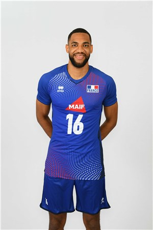 ダリル・ビュルトール、BULTOR、バレーボールフランス男子選手(2020-2021東京オリンピック代表)