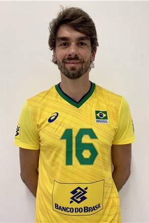 ルーカス・サートカンプ/Lucas Saatkamp、バレーボールブラジル代表選手(東京オリンピック2020-2021出場)