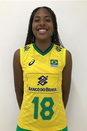 オリベイラ・デソウザ/Ana Cristina Menezes Oliveira De Souza、バレーボールブラジル代表選手(東京オリンピック2020-2021出場)