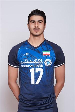 17メイサム・サレヒ/Meisam Salehi、バレーボールイラン代表選手(東京オリンピック2020-2021出場)