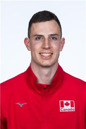 グレアム・ビグラス/Graham Vigrass、バレーボールカナダ代表選手(東京オリンピック2020-2021出場)