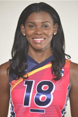 18ベタニア・デラクルス/Bethania De La Cruz、バレーボールドミニカ共和国代表選手(東京オリンピック2020-2021出場)