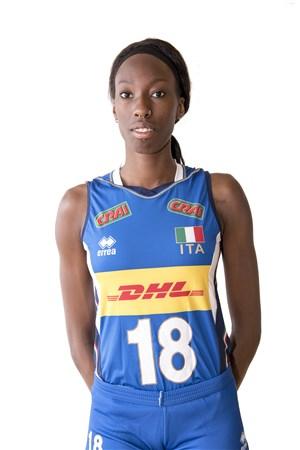 パオラ・エゴヌ/Paola Ogechi Egonu、バレーボールイタリア女子選手(東京オリンピック2020-2021代表)