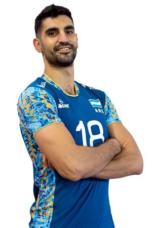 マルティン・ラモス/Martín Ramos、バレーボールアルゼンチン代表選手(東京オリンピック2020-2021出場)