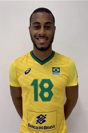 リカルド・ルカレリ・ソウザ/Ricardo Lucarelli Souza、バレーボールブラジル代表選手(東京オリンピック2020-2021出場)