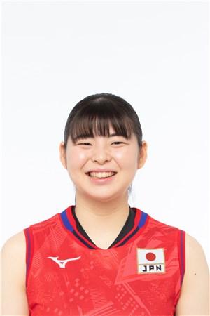 山田二千華/やまだにちか、バレーボール日本代表選手(東京オリンピック2020-2021代表)
