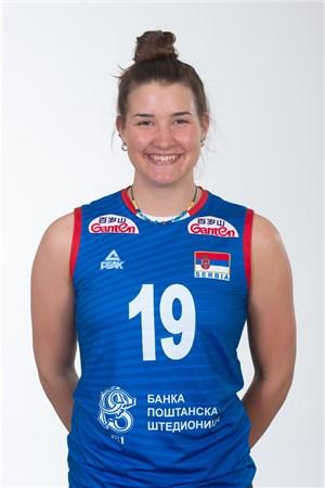 19ボヤナ・ミレンコビッチ/Bojana Milenkovic、バレーボールセルビア代表選手(東京オリンピック2020-2021出場)