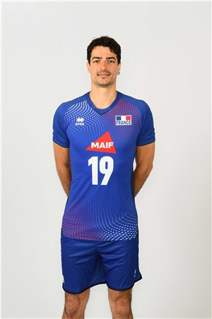 ヤシン・ルアティ、YACINE LOUATI、バレーボールフランス男子選手(2020-2021東京オリンピック代表)
