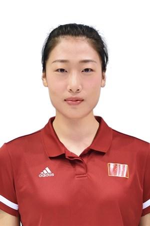 劉晏含/Liu Yanhan/リュウ・アンカン、バレーボール中国代表選手(東京オリンピック2020-2021出場)
